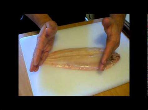 comment cuisiner de la raie habiller préparer lever des filets de poisson et sole