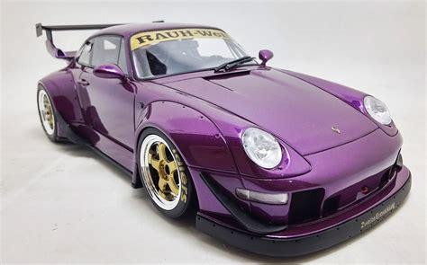 porsche rwb purple 1 18 porsche 911 993 rwb 1996 purple gt spirit gt727 r