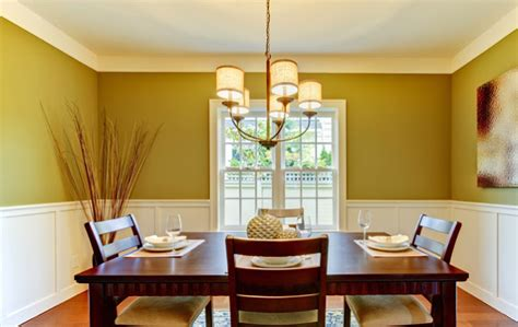 room color ideas 2013 dining room color schemes with chair rail 187 dining room Dining