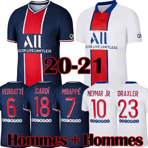 Maillots soccer kits jersey football 2021 icardi hommes mbappe neymar maillot enfants uniform jr foot sets. 2020 Maillots De Football PSG Kits 20 21 MBAPPE 2020 2021 ...