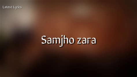 Tera Hua Lyrics Video