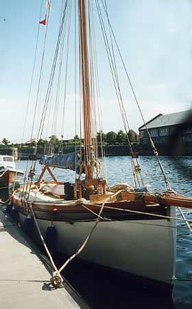 Lune Whammel Boat For Sale by Lassie Boat For Sale Morcombe Bay Prawner Traditional