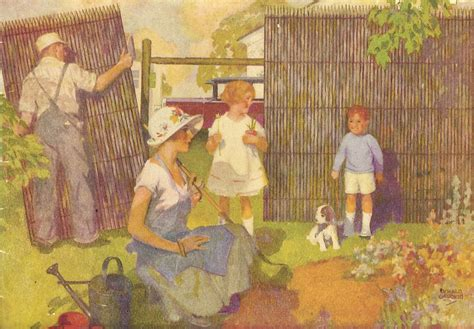 vintage gardening cliparts   clip art