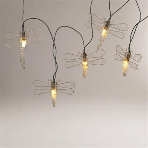 dragonfly outdoor string lights 17 best images about sculpture lights and luminaries on