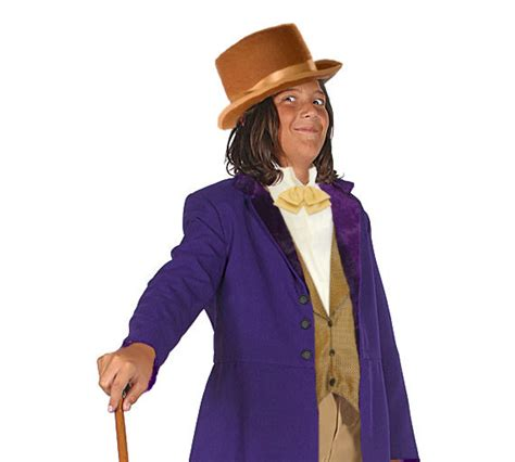 Childrenu0026#39;s Willy Wonka Inspired Costume Victorian and