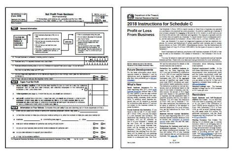 form c ez 2018 irs schedule c ez form and instructions