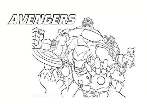 disegni da colorare  avengers colorare