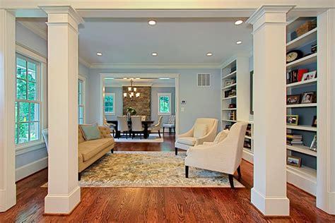 Living Room Window Trim Ideas by Columns In Living Room Ideas Living Room Traditional With