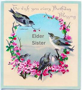 20+ Amazing Birthday Images For Elder Sister – Beautiful ...