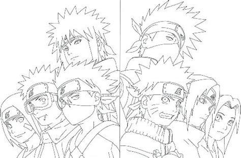 Naruto Coloring Sheets