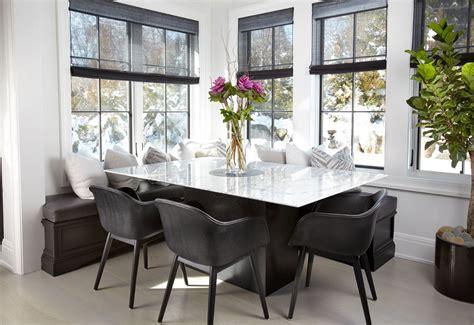 Black Cabinets Look Stunning In This Manhasset Kitchen