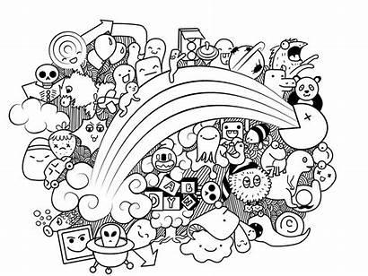 Doodle Kawaii Doodling Doodles Deviantart Easy Dibujos