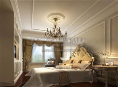 Luxury Bedroom 3dmax Model Interior Scene Free Download