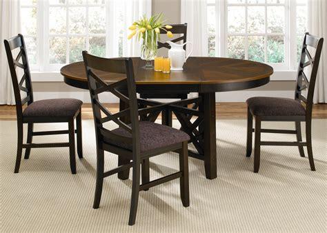 bistro ii oval extendable pedestal dining room set