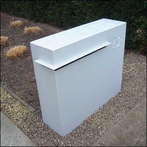 Briefkasten Modern Design by Tolle Ideen F 252 R Modernen Wandschmuck Briefkasten Au 223 En