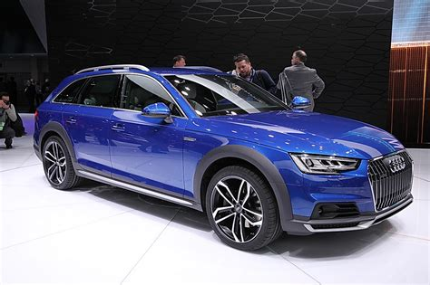 World Debut In Detroit 2017 Audi A4 Allroad And Audi H
