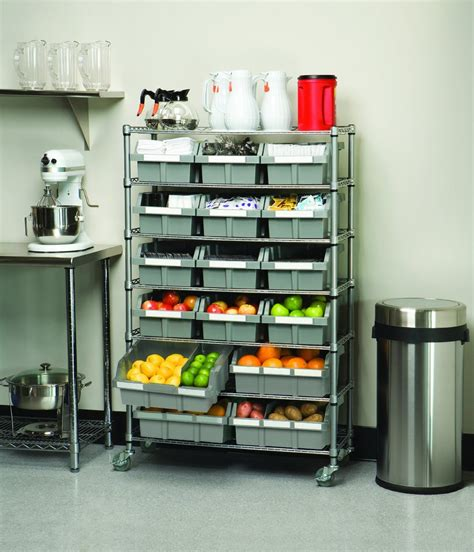Properly Food Storage In Commercial Kitchens Pertaining To