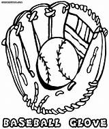 Baseball Glove Coloring Pages Ball Drawing Colorings Baseballglove Getdrawings Coloringway sketch template