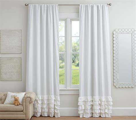 light pink ruffle curtains light pink ruffle bottom curtains curtain menzilperde net
