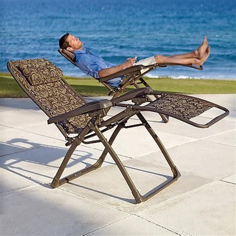 mesh zero gravity recliner lounge chair traditional