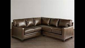L Sofa : l shaped leather couch ideas youtube ~ Buech-reservation.com Haus und Dekorationen