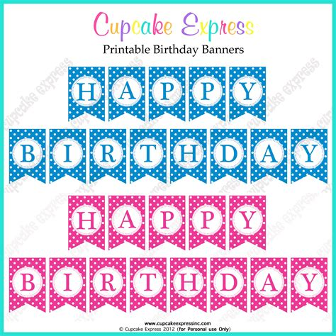 free happy birthday template free printable happy birthday banner templates health