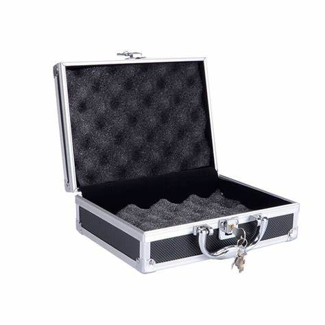 Heavy Flat Boss Tortured With Candle Aluminum Gun Case Tactical Extreme Pistol Padded