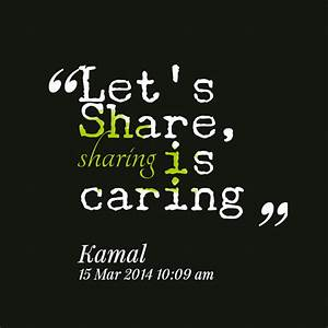 sharing is caring essay for grade 2