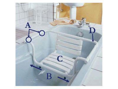 siege de bain adulte siège de bain avec dossier castorama