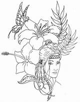 Hatchet Coloring Pages Getdrawings Native sketch template