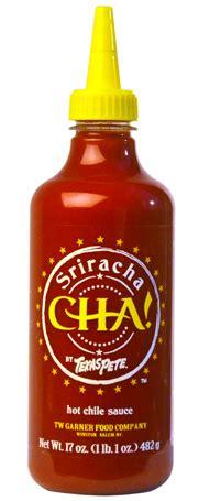 Deep South Dish: CHA! by Texas Pete® Sriracha Sauce
