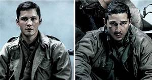 Fury Character Posters with Shia LaBeouf and Logan Lerman ...