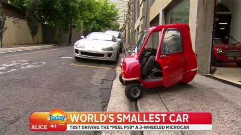 Worlds Smallest Car by The P50 The World S Smallest Car
