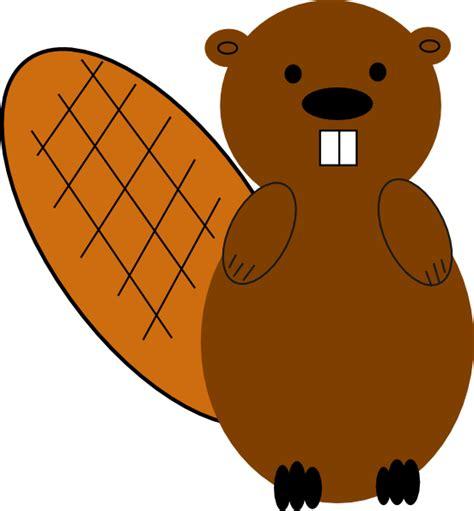 Beaver Clip Beaver No Smile Clip At Clker Vector Clip