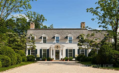 colonial home colonial home rooted in history traditional home