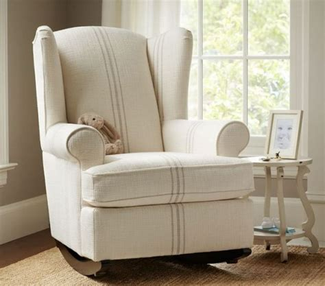 modern white rocking chair for nursery from only picnic