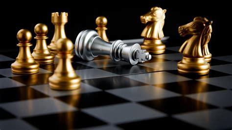 golden silver international chess closeup preview wallpapercom