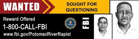 digital billboard  potomac river rapist suspect fbi