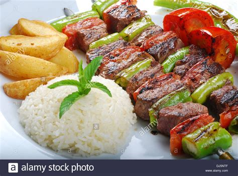 turkish kebab turkish shish kebab stock photo royalty free image 62821823 alamy