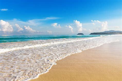 Karon Beach Phuket Thailand On April 2010 Stock Image