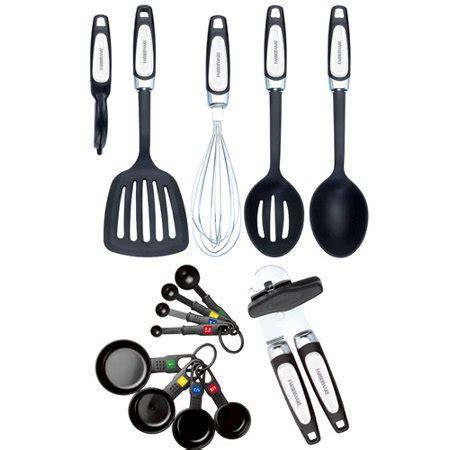 walmart kitchen gadgets farberware 14 professional kitchen tool and gadget