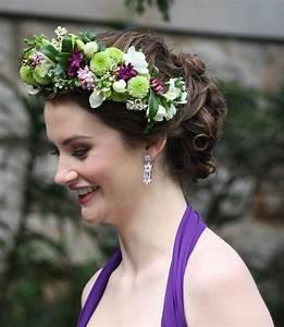 Flower Hair Garland By Sydney Wedding Florist Flowers Of