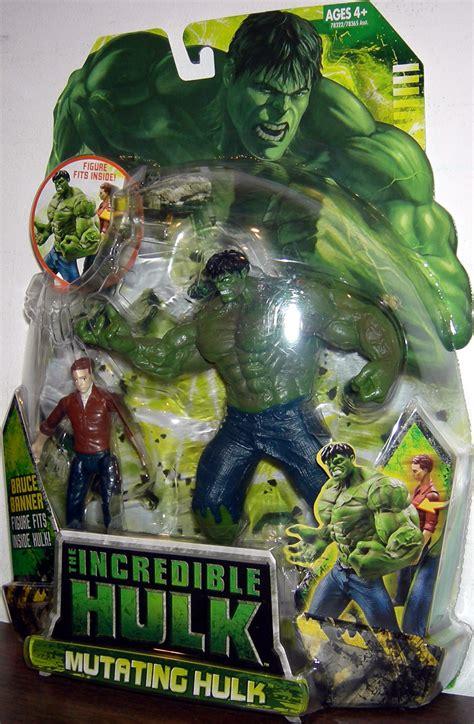 mutating hulk  action figure hasbro