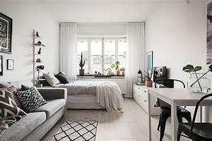 77, Magnificent, Small, Studio, Apartment, Decor, Ideas, 63