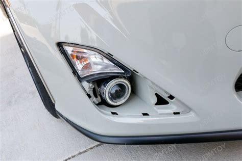 scion frs fog lights scion fr s projector fog light kit with led ring parking