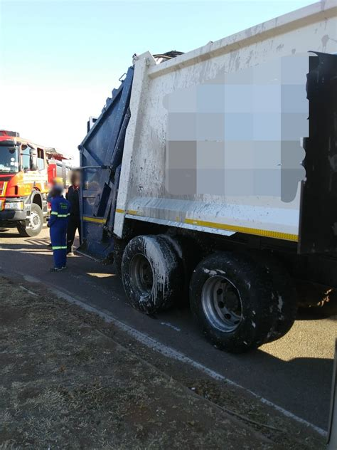 Car And Dump Truck by Gauteng Two Injured In Dump Truck And Car Crash Truck