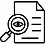 Audit Icon Auditing Monitoring Document Checking Icons