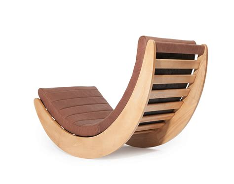 dangerous curve relaxer one rocking chair by verner panton