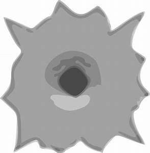 Bullet Hole Clip Art at Clker.com - vector clip art online ...