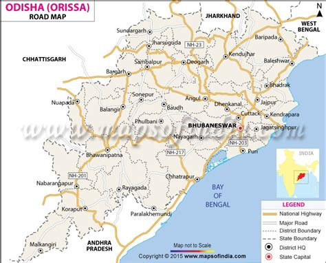 buy odisha road map road map  odisha